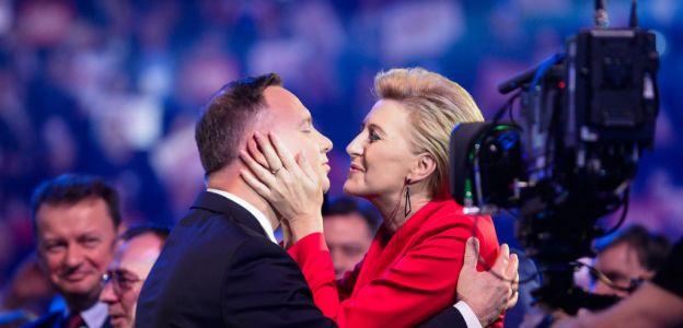 Prezydent Andrzej Duda w obronie żony