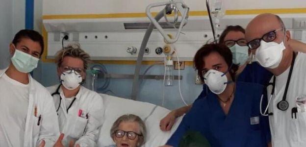 95-letnia Włoszka wyzdrowiała sama!