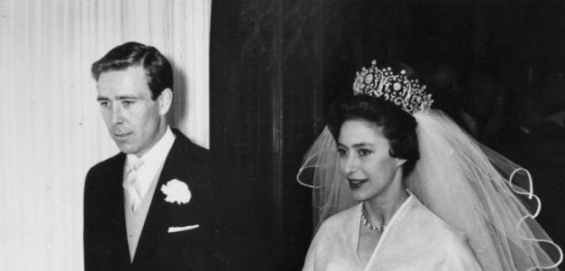 Księżniczka Małgorzata Windsor z mężem