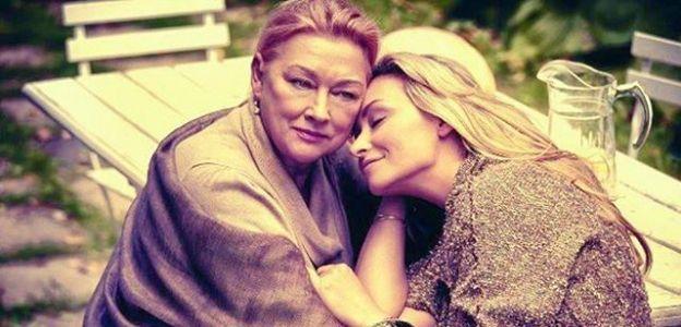 Martyna Wojciechowska z mamą