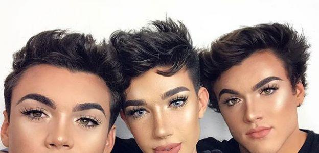 Męscy makijażyści