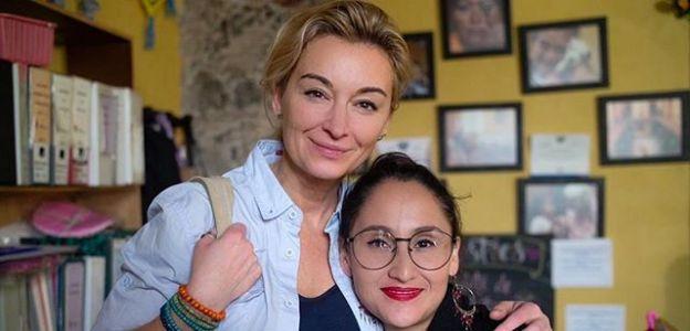 Martyna Wojciechowska i Jessica Vargas