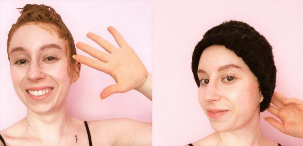 Ziołowe farbowanie włosów - testuje Wiki Grochowska