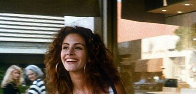 "Julia Roberts w filmie ""Pretty woman"""