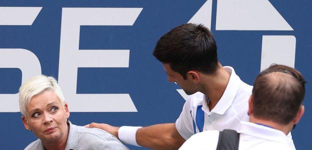Hejt na Laurę Clark - sędzię, którą uderzył Novak Djoković. Fani serbskiego tenisisty tym razem przesadzili!