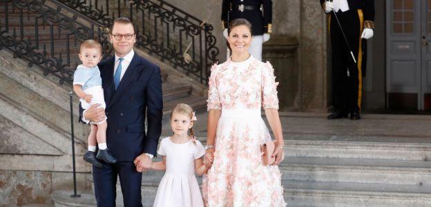 Księżniczka Wiktoria z rodziną