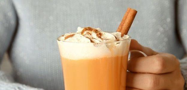 Przepisy z dyni - dyniowe latte