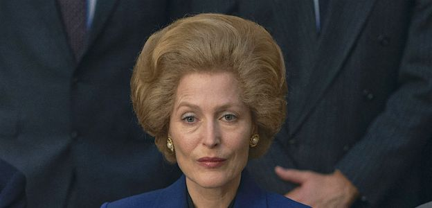 The Crown sezon 4. - Gillian Anderson w roli premier Margaret Thatcher