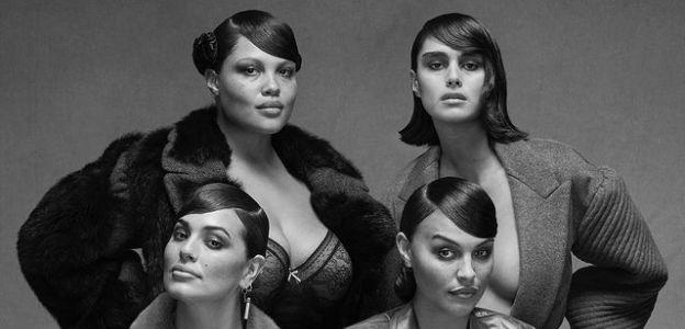Gwiazdy plus size w sesji Fendi na łamach Vogue Italia