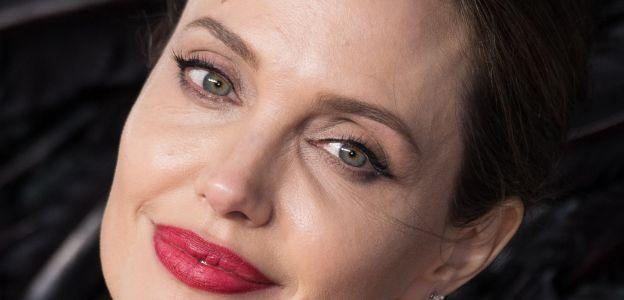Angelina Jolie o przemocy domowej wobec kobiet
