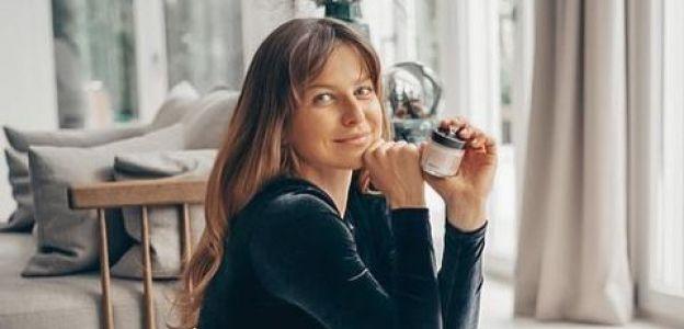 Anna Lewandowska w seksownym welurowym body. Marzą o nim stylistki i dziennikarki mody