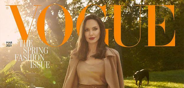 Angelina Jolie w marcowym wydaniu Vogue UK o prawach człowieka i starzeniu się