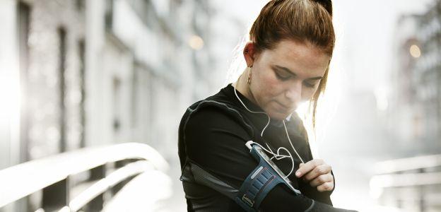 Aplikacja na telefon dla biegaczy
