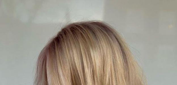 Modne fryzury 2021: Blunt Chop