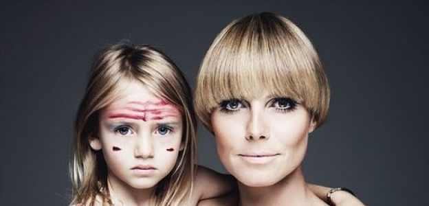 Heidi Klum z córką Leni