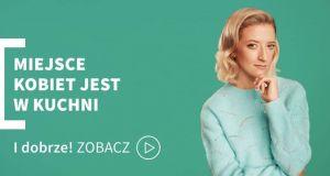 """""""Miejsce kobiet jest w kuchni"""": hasło kampanii z Larą Gessler oburzyło Polaków"""