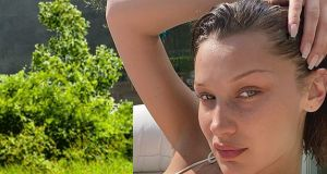 Bella Hadid pokazała zdjęcie bez makijażu i wciągniętego brzucha. Kolejna top modelka stawia na naturalność