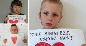 """""""Panie ministrze usłysz nas"""" - wzruszający apel dzieci do ministra Łukasza Szumowskiego. O co chodzi?"""