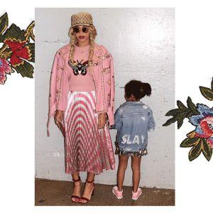 """Beyonce z córką na premierze """"Króla Lwa"""": Blue Ivy wyrasta na ikonę stylu?"""