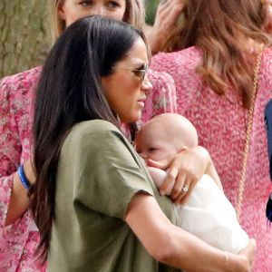 Meghan Markle z synkiem na meczu polo - to pierwsze publiczne wyjście księżnej z dzieckiem