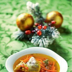 Zupa rybna z szafranem
