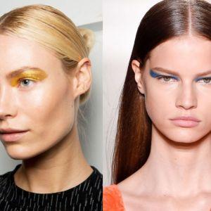 Trendy we fryzurach wiosna 2017!  Gładko zaczesane włosy