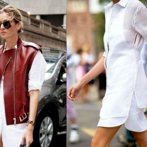 Trend moda wiosna lato 2017: biała sukienka