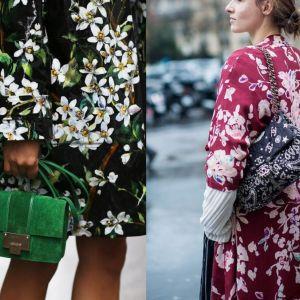 Trend moda wiosna lato 2017: kwiatowe wzory