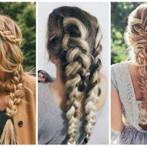 3 proste fryzury z warkoczem