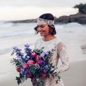17 Fryzur ślubnych Dla Krótkich Włosów 2018 Kobietapl