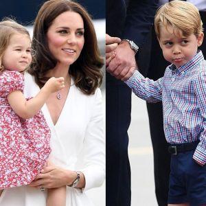 Księżniczka Charlotte i Książę George