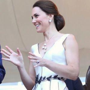 Księżna Kate Middleton w sukience Gosia Baczyńska