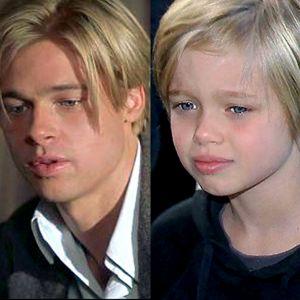 Shiloh Pitt i Brad Pitt