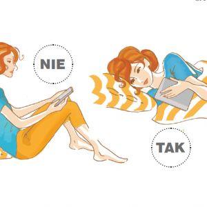 3. Garbienie się przy czytaniu