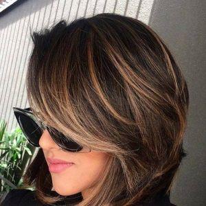 Krótkie fryzury na jesień