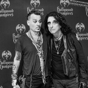 Johnny Depp i Alice Cooper