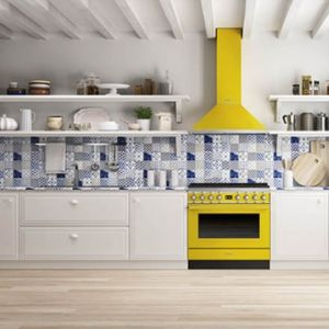 Mocne kolory w mieszkaniu - żółty