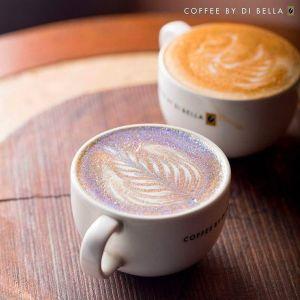 Brokatowe cappuccino -