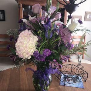 Kwiaty od taty