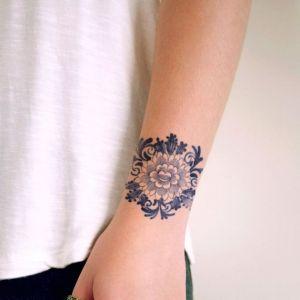 Tatuaże Bransoletki Modne Wzory Kobietapl