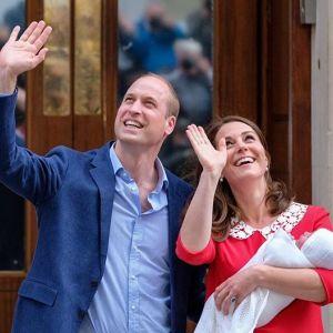 Pierwsze zdjęcia Louisa syna księżnej Kate i księcia Williama