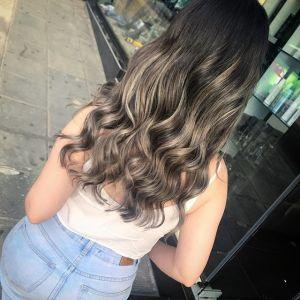 Bronde na włosach