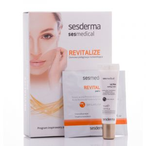 Sesderma REVITALIZE, Chusteczka REVITALIZE peel solution i ULTRA sealing cream, 129 zł
