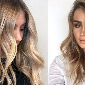 Sombre na włosach