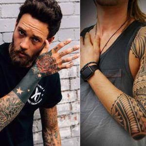 Tatuaże męskie na ramię