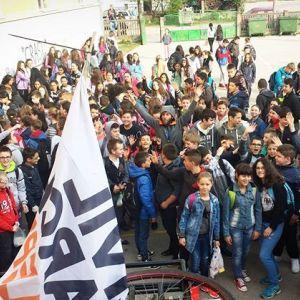 Civil March For Aleppo w Serbii