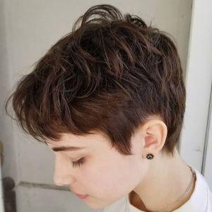 Krótkie fryzury 2018: w stylu dandysa