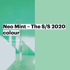 Neo Mint - kolor sezonu SS 2020