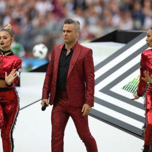 Kamila Zalewska u boku Robbiego Williamsa