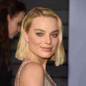 Modne krótkie fryzury 2018: Margot Robbie